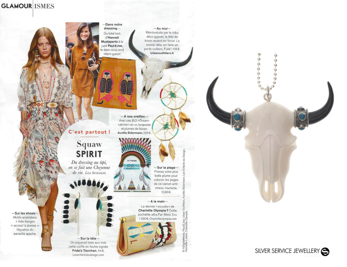 Glamour Magazine feature