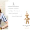Charlotte de Carle: Gold Teddy Bear Charm