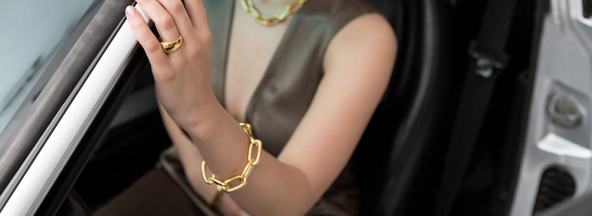 Chunky Linked Bracelets