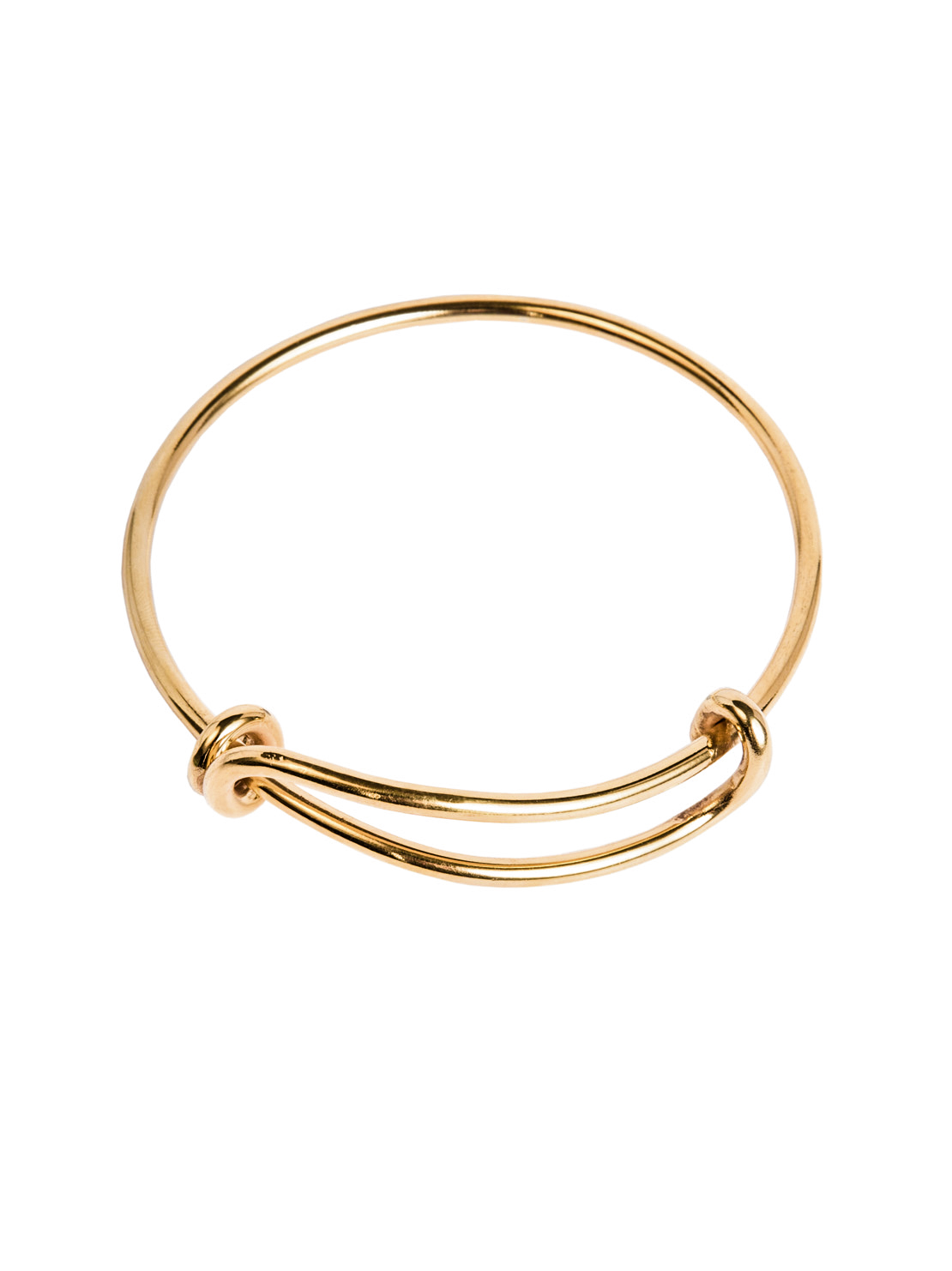 Brass Charm Bangle