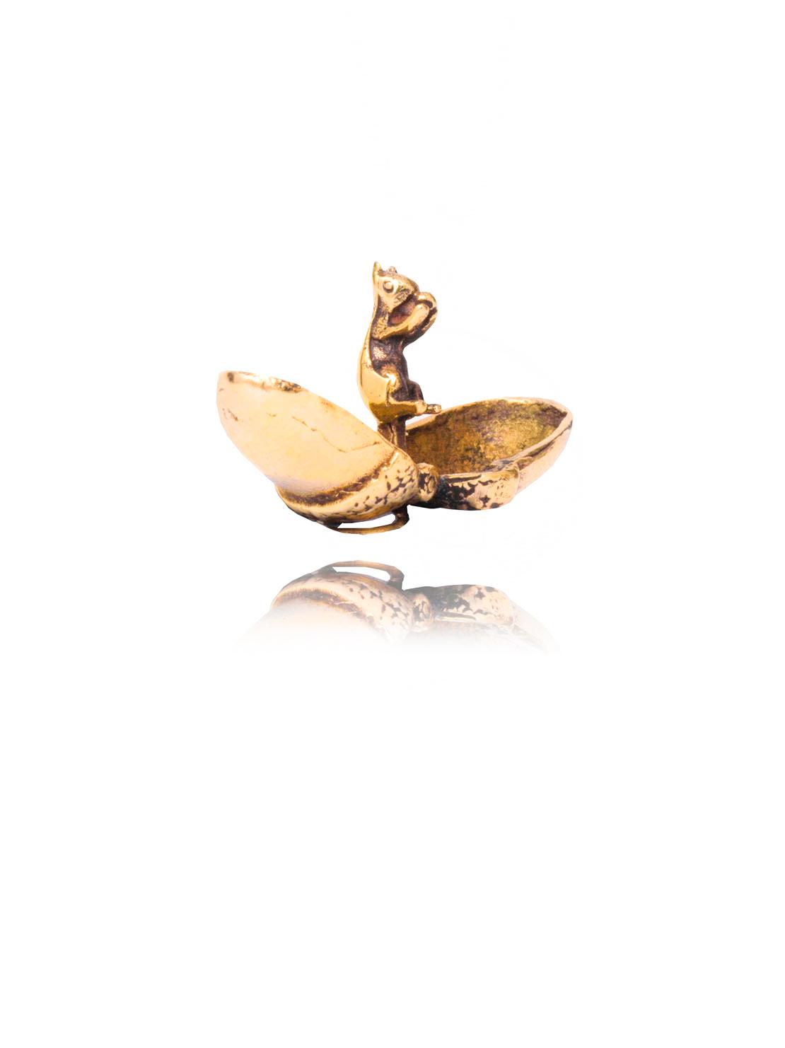 Gold Acorn Charm