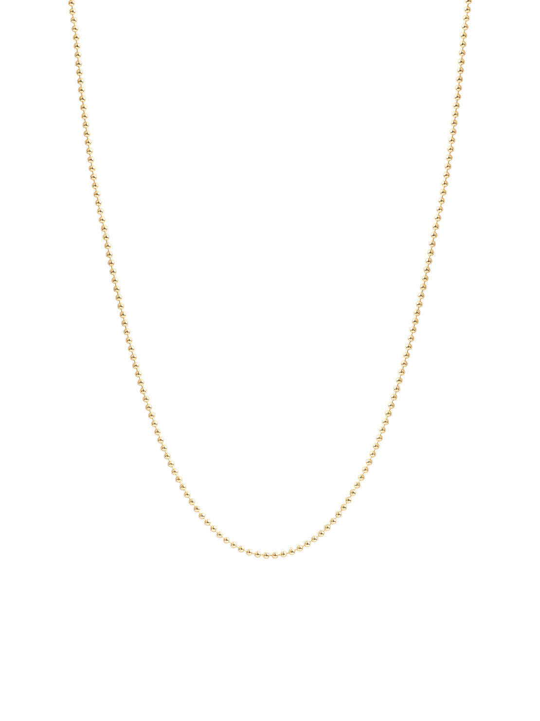 60cm Gold Ball Chain