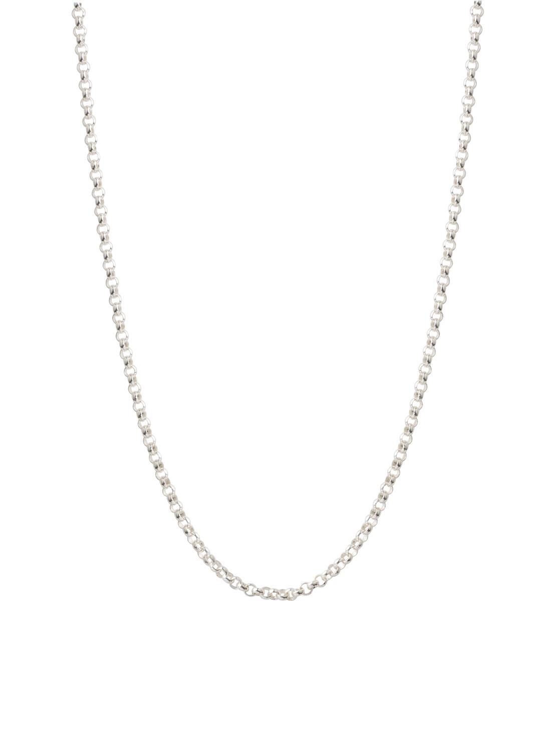 Thick Silver Belcher Chain