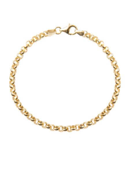 Gold Chunky Linked Bracelet
