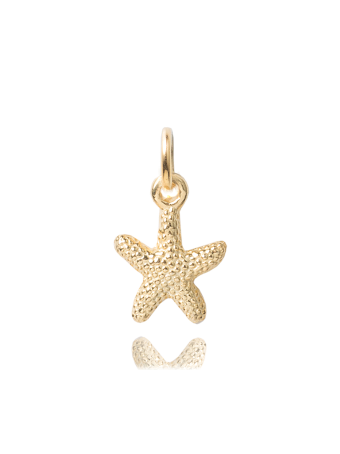 Gold Starfish Charm