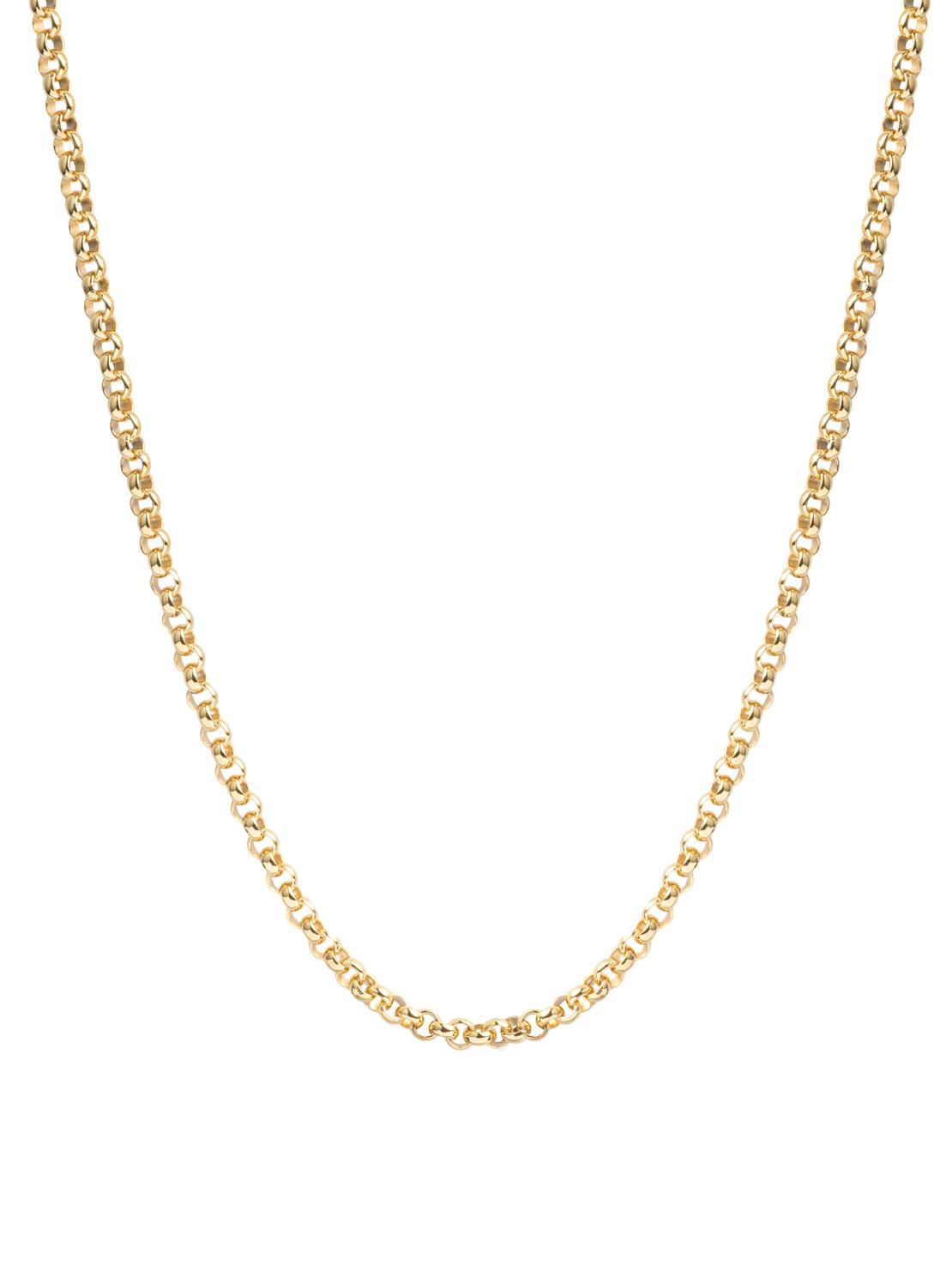 Thick Gold Belcher Chain