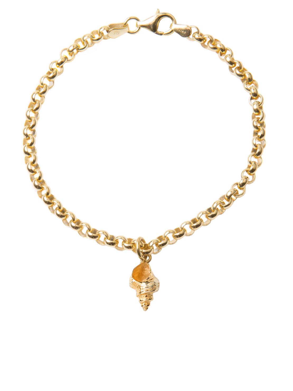 Whelk Shell Bracelet