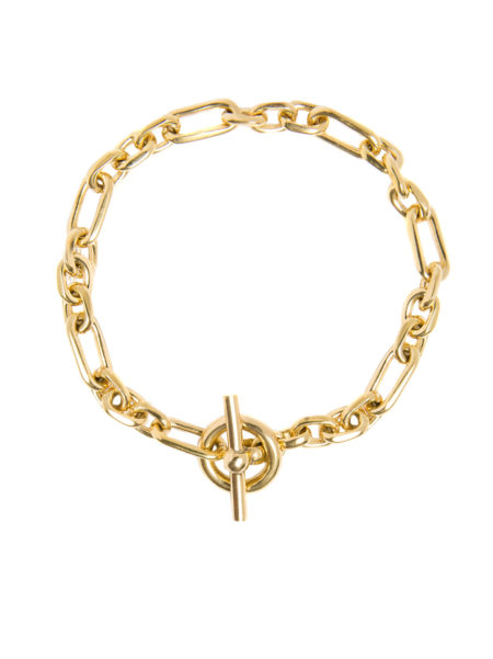 Small Gold Watch Chain Bracelet