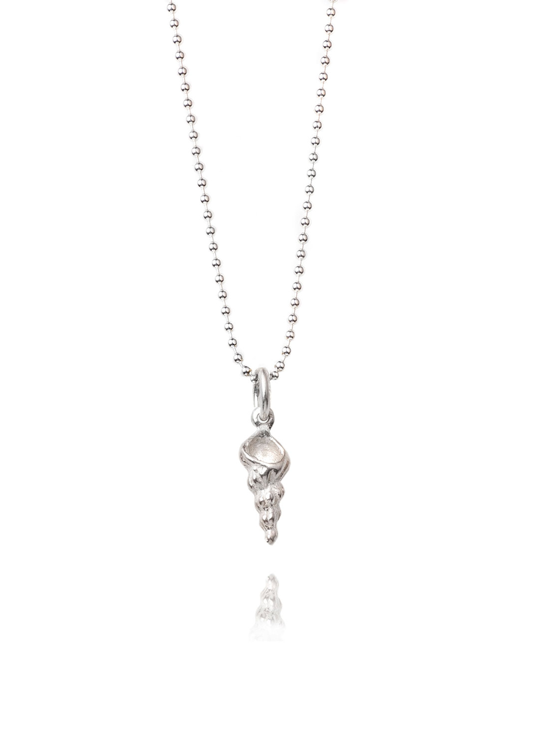Tiny Screw Shell Necklace