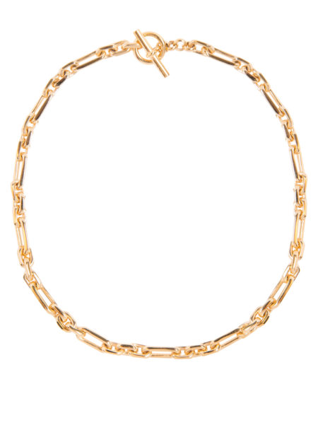 Small Gold Watch Chain Necklace
