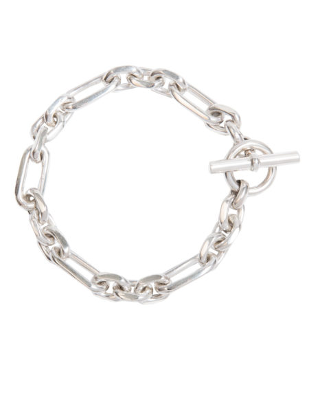 Small Silver Watch Chain Bracelet