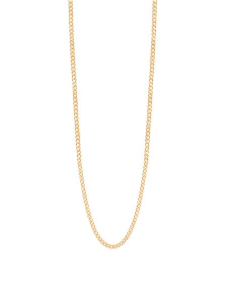 Thin Gold Curb Link Chain