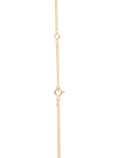 Thin Gold Curb Link Chain