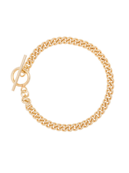 Baby Gold Curb Link Bracelet