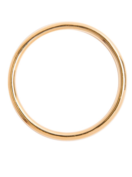 Medium Plain Gold Bangle