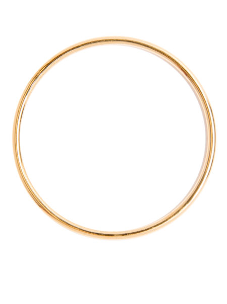 Small Plain Gold Bangle