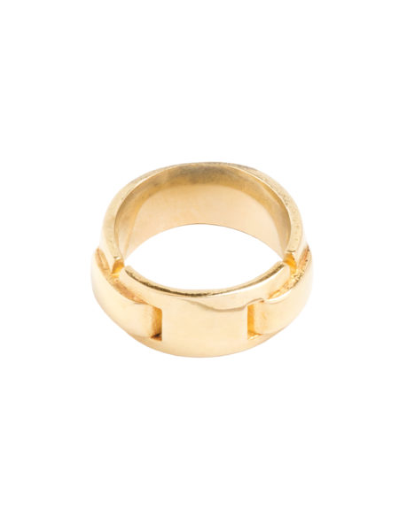 Brass Buckle Ring