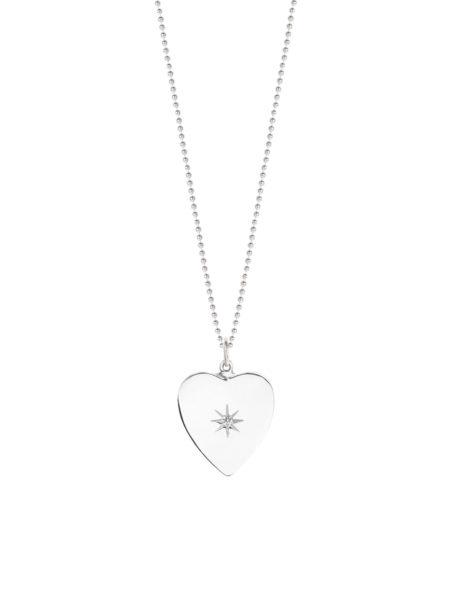 Heart Shaped Diamond Disc