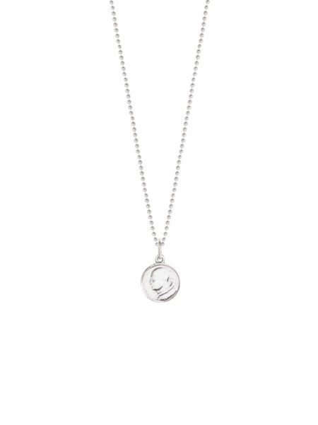 Small Religious Medal On Ball Chain