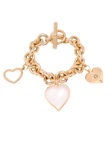 Laura Fantacci X Tilly Sveaas Heart Bracelet Collaboration