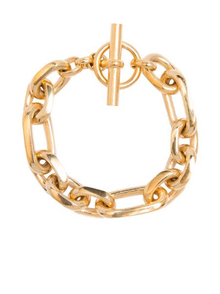 Large Gold Watch Chain Bracelet