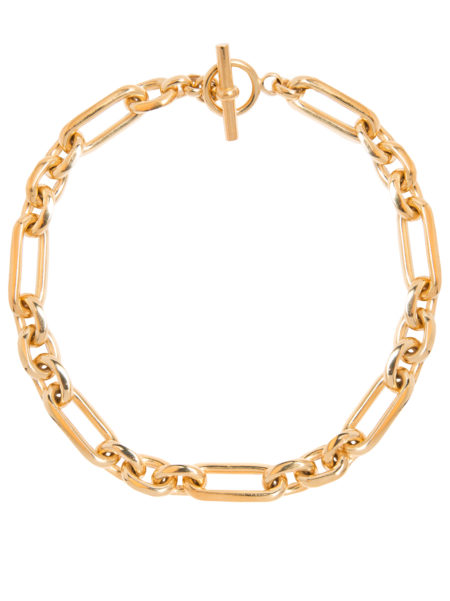 Medium Gold Watch Chain Necklace
