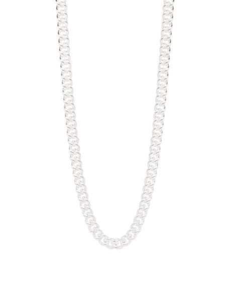 50cm Silver Curb Link Chain