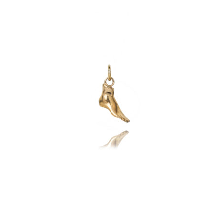 Brass Foot Charm