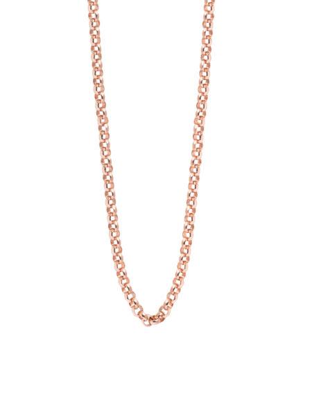 Rose Gold 80cm Chunky Belcher Chain