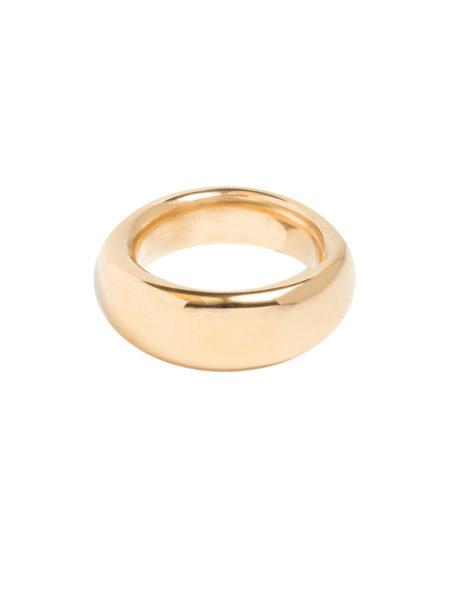 Smooth Gold Band Ring