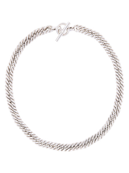 Sample Silver Curb Chain Necklace