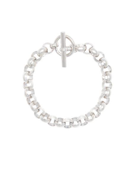 Small Silver Rolo Link Bracelet